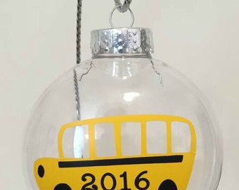 School Bus Ornament, School Bus Driver Ornament, School Bus Driver Gift, School Bus Driver Christmas Gift, School Bus Gift, School Gift