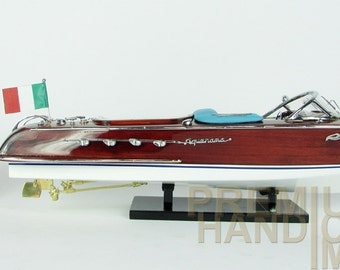 ON SALE Riva Aquarama Wooden Model Boat