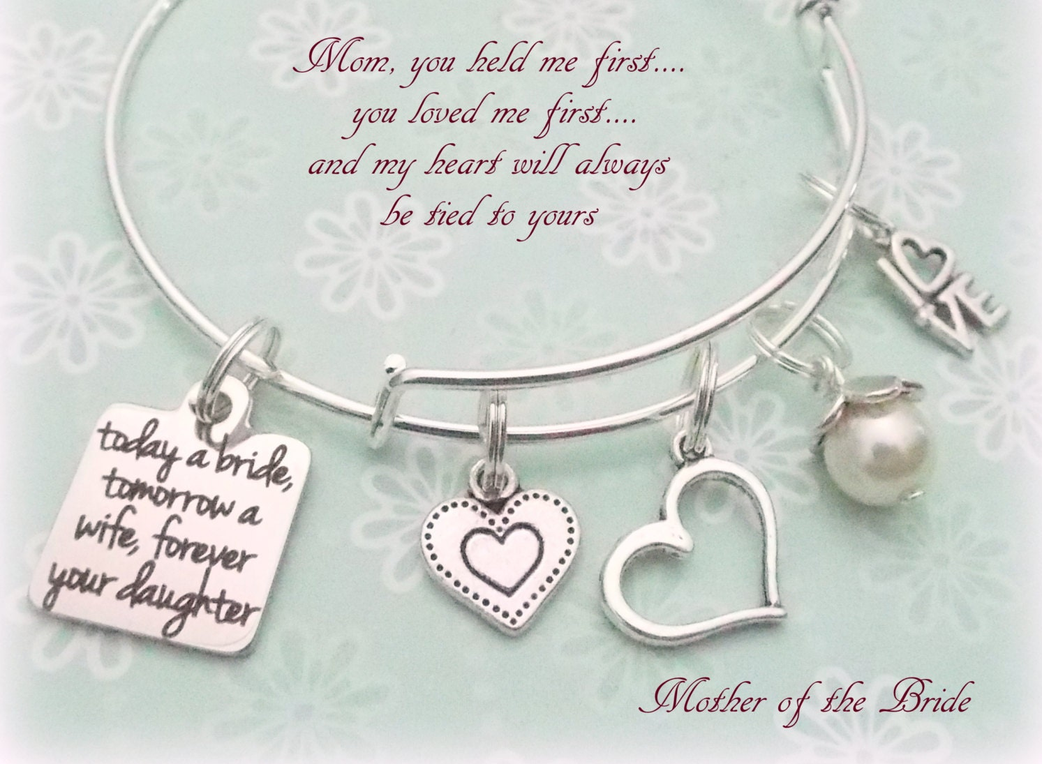 Mother Of The Bride Gift Daughter To Mother Gift Gift For