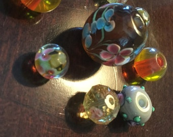 Classy beautiful colored beads
