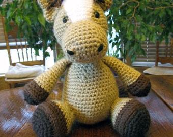 Crochet Horse/Amigurumi/Collectibe/Gift/ Pony
