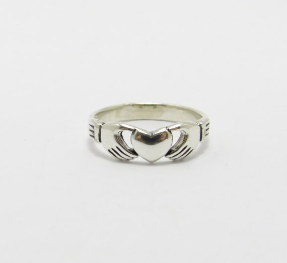 claddagh ring sterling silver claddagh ring silver by