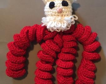 Santa Scrunch toy
