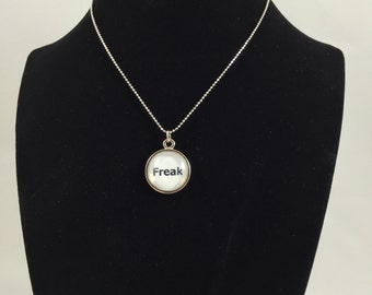 Freak (white) Pendant