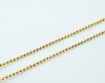 """18K Gold Filled Chain 17"""" Inch CG144"""