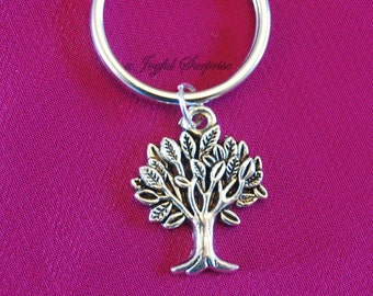SALE  Tree Key Chain, Tree of Life KeyChain Nature Gift for Forestry Worker Present Environmentalist Present Purse Charm Planner Canada Shop