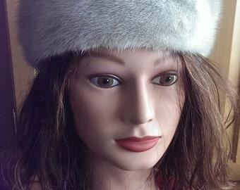 Silver Mink Hat