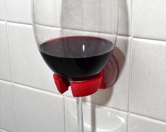 Shower Wine Glass Holder for Shower Bathtub Bathroom
