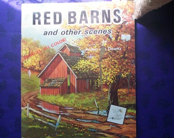 Red Barns and other Scenes by Arden van Dewitz