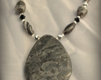 Midnight Moon Necklace