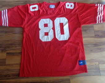 Vintage Jerry Rice Jersey NFL San Francisco 49ers football jersey Men XXL
