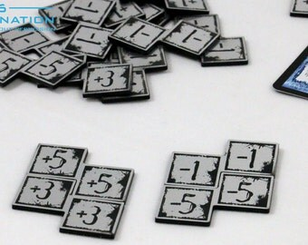 20 Power Counters for MTG Card Games - YOU CHOOSE the + / -