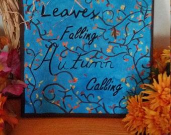 Leaves Falling Autmun Calling
