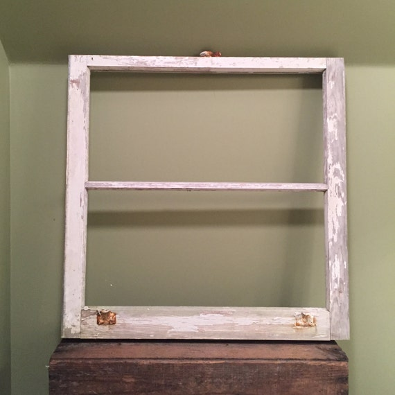items similar to vintage window frame without glass white
