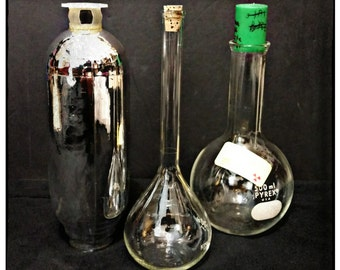 SALE Antique Lab Equipment - Mad Scientist