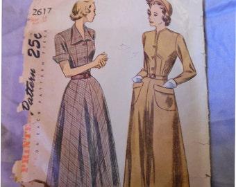 Vintage New Look Simplicity 2617 Misses' Sz 14 ( 32/26/35) Dress Pattern