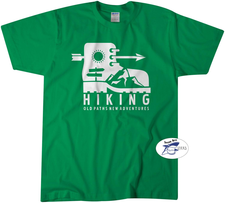 Hiking Tee Camping T Shirt Hiking Camping Tees