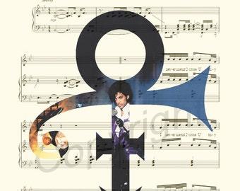 Prince Sheet Music Art Print