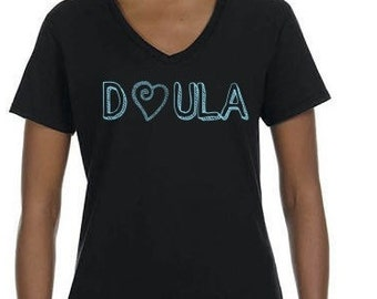 Doula V-Neck T-shirt