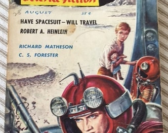 Vintage 1958 The Magazine of Fantasy & Science Fiction