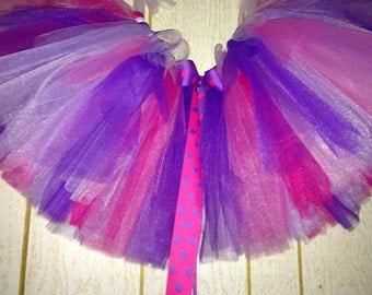 READY TO SHJP !!!Colorful ribbon tutu with adjustableable ribbon