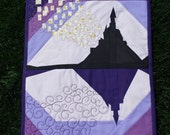 Tangled inspired castle - A Paper Pieced Pattern