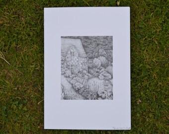 Artist Garden Print