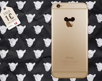 Vinyl Mickey Mouse cap for iPhone