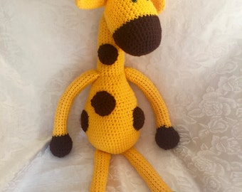Crocheted Giraffe