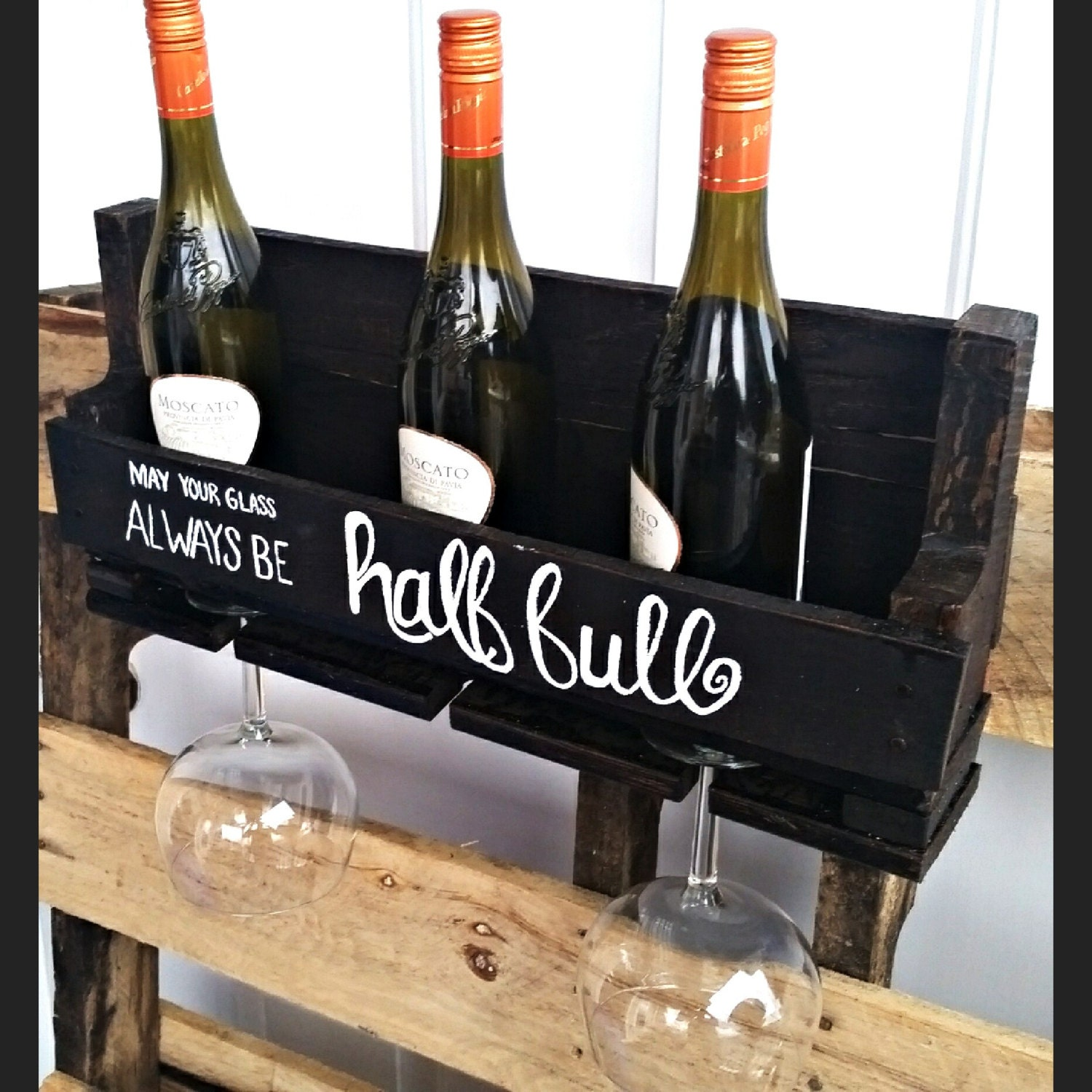Beautiful Unique Wine Rack. Made from 100% reclaimed wood. |Unique Wood Wine Rack