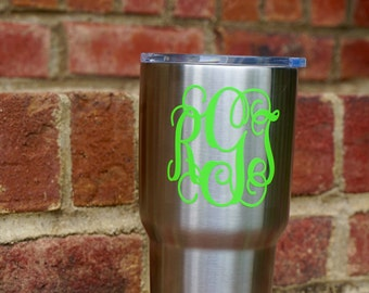 Customized 30oz YETI Rambler