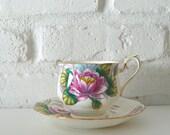 Royal Albert Bone China Tea Cup & Saucer, Water Lily