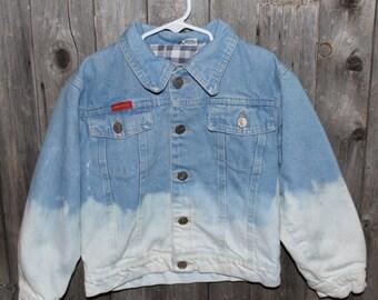 Kids Denim Dip-dyed Jacket