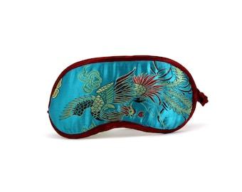 Handmade sleep mask, soft and comfy eye mask, elegant sleeping mask, blindfold, Birthday gift for her, Christmas present for women
