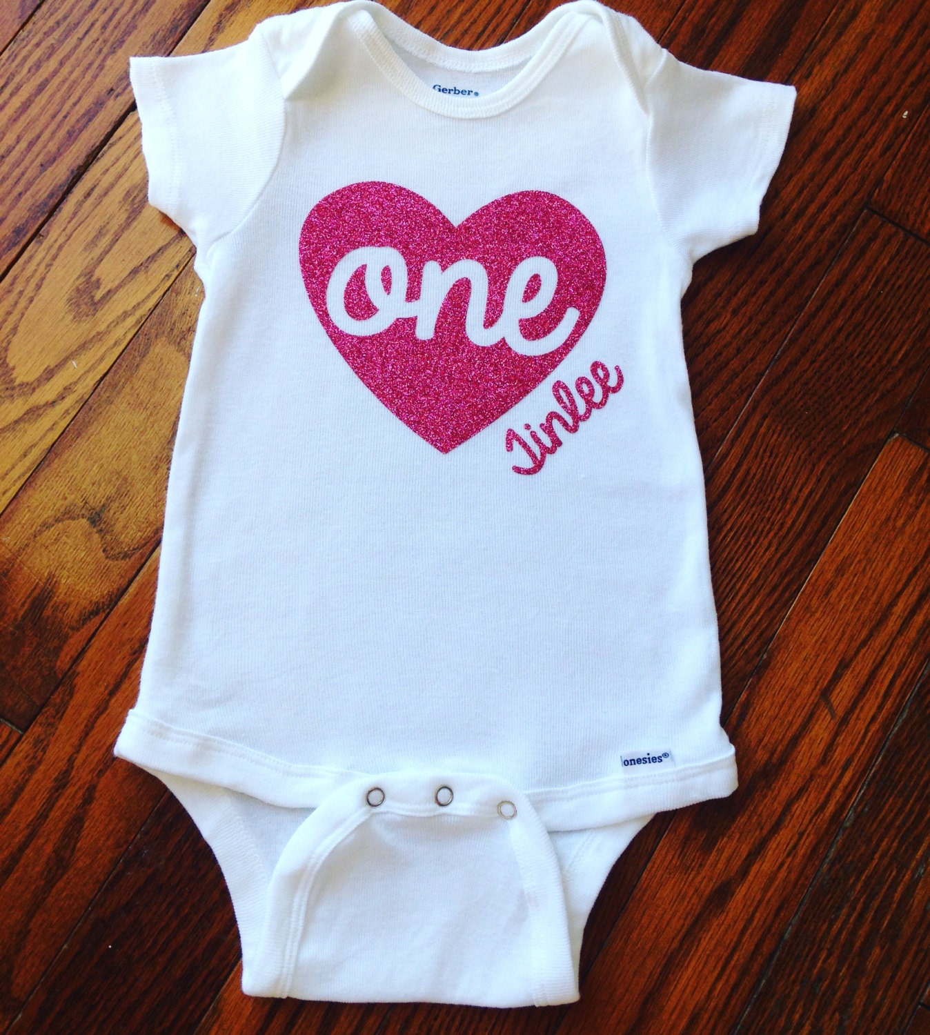 First Birthday Onesie 1st Birthday Outfit By