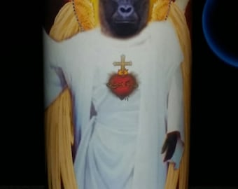 Harambe Prayer Candles - Pet Celebrity Prayer Candles - 20% goes to World Wildlife Fund
