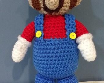 Amigurumi Mario Super Mario Bross