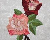 Roses Appliqué Pattern