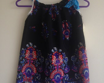 Easy fit girls summer dress in size 3