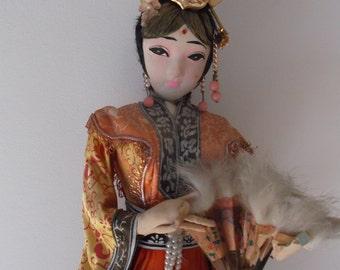 Geisha - decoration doll