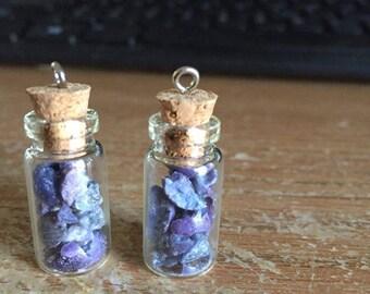 Sodalite Fairy Bottle