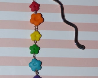 Dangly Flowers Bookmark