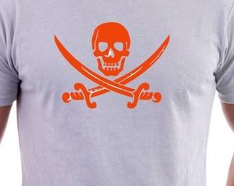 T-shirt with Skull & swords Logo