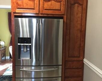 Custom Refrigerator Pantry
