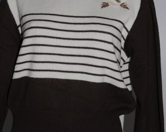 Pull vintage SOLPHIN Paris Taille 38 FR
