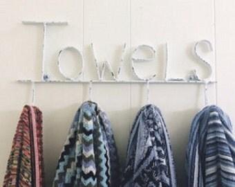 Rustic Bathroom Wall Decor Towel Hook Bathroom Towel Hooks