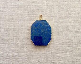 Lapis Lazuli Slab Pendant