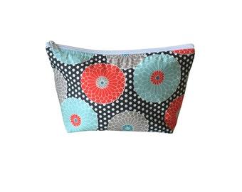 Springdale Sterling Go Bag // Go-Bag // Floral // Polka Dot // Salmon Mint Turquoise