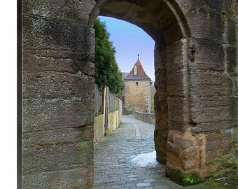 Rothenburg ob der Tauber Germany 16 X 20 Gallery Wrapped 2015