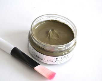 Dead Sea Clay Mud Mask, Clay Mask, Detox Mask, Acne Face Mask, All Skin Type